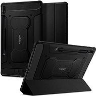 "Spigen Rugged Armor Pro Black Samsung Galaxy Tab S7+ 12.4"" - Pouzdro na tablet"