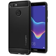 Spigen Rugged Armor Black Huawei Y9 2018 - Mobile Case