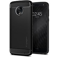 Spigen Rugged Armor Black Moto G6 Plus - Kryt na mobil