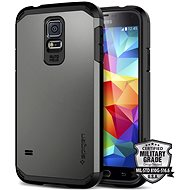 Spigen Tough Armor Gunmetal Samsung Galaxy S5 - Ochranný kryt