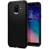 Spigen Liquid Air Black Samsung Galaxy A6 - Kryt na mobil
