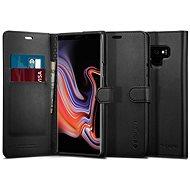 Spigen Wallet S Black Samsung Galaxy Note9 - Kryt na mobil