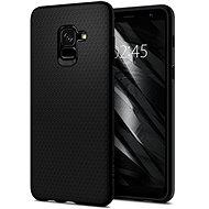 Spigen Liquid Air Matte black Samsung Galaxy A8 (2018) - Kryt na mobil
