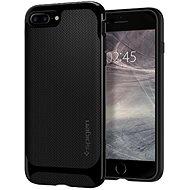 Spigen Neo Hybrid Herringbone Shiny Black iPhone 7 Plus/8 Plus - Ochranný kryt