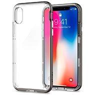 Spigen Neo Hybrid Crystal Satin Silver iPhone X - Ochranný kryt