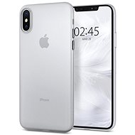 Spigen Air Skin Clear iPhone XS/X - Kryt na mobil