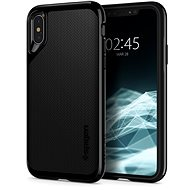 Spigen Neo Hybrid Jet Black iPhone XS/X - Ochranný kryt