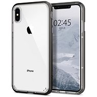 Spigen Neo Hybrid Crystal Gunmetal iPhone XS/X - Ochranný kryt