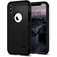 Spigen Tough Armor Black iPhone XS/X - Kryt na mobil