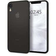 Spigen Air Skin Black iPhone XR - Kryt na mobil