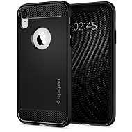 Spigen Rugged Armor Black iPhone XR - Kryt na mobil
