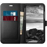 Spigen Wallet S Black iPhone XR - Kryt na mobil