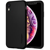 Spigen Thin Fit 360 Black iPhone XR - Kryt na mobil
