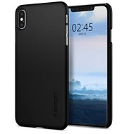 Spigen Thin Fit Black iPhone XS Max - Kryt na mobil