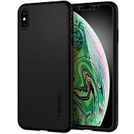 Spigen Thin Fit 360 Black iPhone XS Max - Ochranný kryt