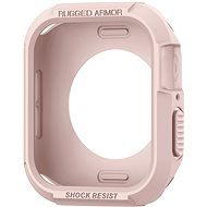 Spigen Rugged Armor Rose Gold Apple Watch 4 44mm - Ochranný kryt