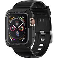 Spigen Rugged Armor Pro Black Apple Watch 4/5 44mm - Ochranný kryt