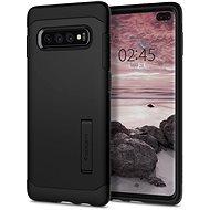 Spigen Slim Armor Black Samsung Galaxy S10+ - Kryt na mobil