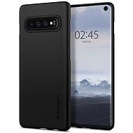 Spigen Thin Fit Black Samsung Galaxy S10 - Kryt na mobil