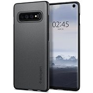 Spigen Thin Fit Gray Samsung Galaxy S10 - Kryt na mobil