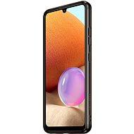 Samsung Poloprůhledný zadní kryt pro Galaxy A32 černý - Kryt na mobil