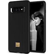 Spigen La Manon Classy Black Samsung Galaxy S10 - Kryt na mobil