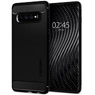 Spigen Rugged Armor Black Samsung Galaxy S10+ - Kryt na mobil