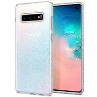 Spigen Liquid Crystal Glitter Clear Samsung Galaxy S10 - Kryt na mobil