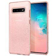 Spigen Liquid Crystal Glitter Rose Samsung Galaxy S10 - Kryt na mobil