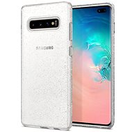 Spigen Liquid Crystal Glitter Clear Samsung Galaxy S10+ - Kryt na mobil