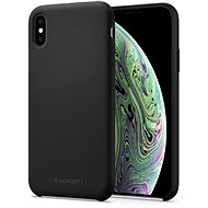 Spigen Silicone Fit Black iPhone XS/X