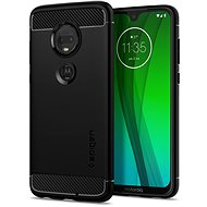 Spigen Rugged Armor Black Moto G7/G7 Plus - Kryt na mobil