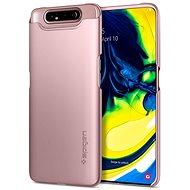 Spigen Thin Fit Rose Gold Samsung Galaxy A80 - Kryt na mobil