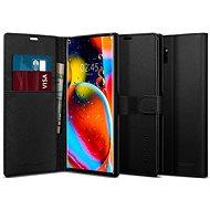 Spigen Wallet S Black Samsung Galaxy Note10+ - Kryt na mobil