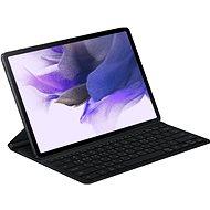 Samsung ochraný kryt s klávesnicí pro Galaxy Tab S7+/Tab S7+ Lite černý - Pouzdro na tablet