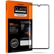 Spigen Glass FC HD Black Huawei P30 - Ochranné sklo