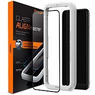 Spigen Align Glass FC iPhone 11/XR - Ochranné sklo