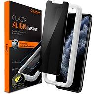 Spigen AlignMaster Privacy iPhone 11 Pro - Ochranné sklo