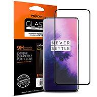 Spigen Glas.tR Curved Black OnePlus 7 Pro - Ochranné sklo