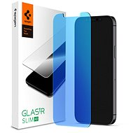Ochranné sklo Spigen Glas tR AntiBlue HD 1 Pack iPhone 12 Pro Max - Ochranné sklo
