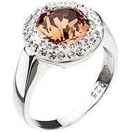 Prsten EVOLUTION GROUP 35026.3 dekorováno krystaly Swarovski® (925/1000, 5 g), vel. 54 - Prsten