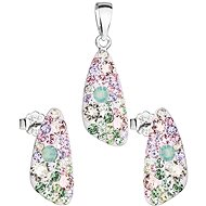 EVOLUTION GROUP 39167.3 decorated with Swarovski® crystals (925/1000, 2.9g) - Gift Set