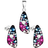 EVOLUTION GROUP 39167.4 decorated with Swarovski® crystals (925/1000, 2.9g) - Gift Set