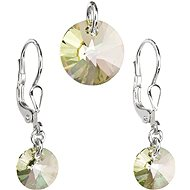 EVOLUTION GROUP 39090.6 Luminous Green with Swarovski® Crystals (Ag925/1000, 1g)