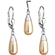 EVOLUTION GROUP 39119.3 Gold Set with Swarovski® Pearls (Ag925/1000, 1g)
