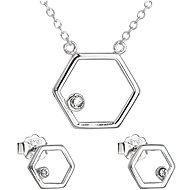 EVOLUTION GROUP 39166.1 with Swarovski® Crystals (Ag925/1000, 2.1g)