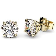 Dolcze Zorka 0.5ct 321054 (Au585/1000, 1,3g) - Earrings