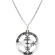 PRAQIA Men's Vegvisir KO5005_MO060_50 (Ag925/1000, 5,52g) - Necklace