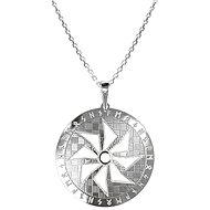 PRAQIA Men's Sol KO5006_MO060_50 (Ag925/1000, 7.33g) - Necklace