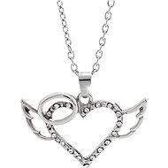 JSB Bijoux Andělské srdce s křišťálovými kameny Swarovski® 61300860cr